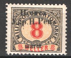 Ucraina Occidentale 1919 Unif.102 */MH VF/F - Ucraina