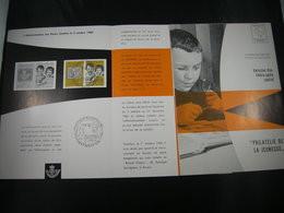"BELG.1960 1152 FDC Feuillet De La Poste Fr. :  ""Jeugdfilatelie/Philatélie De La Jeunesse"" - 1951-60"
