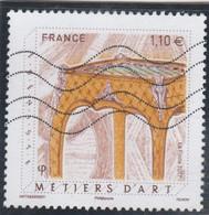 FRANCE 2017 METIERS D ART EBENISTE OBLITERE YT 5197 - Used Stamps
