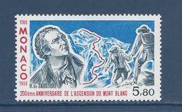 ⭐ Monaco - YT N° 1556  - Neuf Sans Charnière - 1986 ⭐ - Usados