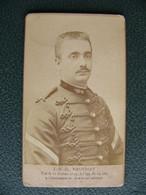 Photo Du Sergent BAUCHAT Tué Dans Une Explosion En 1894 Sapeur Pompier De Paris - Anciennes (Av. 1900)