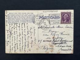 POSTKAART Relais KLEMSKERKE - Covers & Documents
