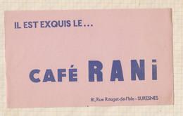 21/20 Buvard Il Est Exquis Le Café Rani Suresnes - Coffee & Tea