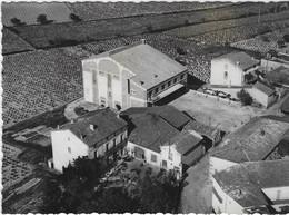 ABEILHAN LA CAVE COOPERATIVE  VUE AERIENNE  CARTE RARE   ANNEE 1958 - Ohne Zuordnung