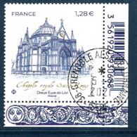 France 2021.Chapelle Royale Saint-Louis - Dreux..Cachet Rond Gomme D'origine - Used Stamps