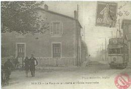 [33] Gironde > Begles Place De La Liberté Et Ecole Maternelle Reproduction - Altri Comuni