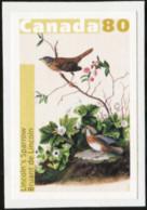 CANADA 2004 Bird Paintings By John James Audubon Birds Lincoln's Sparrow Sparrows Animals Fauna MNH - Sparrows