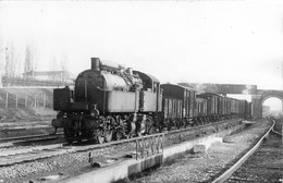060721A - TRANSPORT CHEMIN DE FER TRAIN LOCO - PHOTO CLICHE J RENAUD - à Identifier - - Treinen