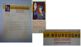 Bière LA BOURGOGNE à Dijon / Correspondance Pour Gestion D'un Bistrot - Invoices