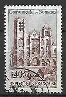 FRANCE    -   1965.  Y&T N° 1453 Oblitéré.  Cathédrale De Bourges - Oblitérés