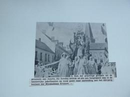 """Origineel Knipsel ( E 289 ) Uit Tijdschrift """" Ons Volk """" 1937 :   Assche   Asse - Sin Clasificación"""