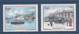 ⭐ Monaco - YT N° 1643 Et 1644 - Neuf Sans Charnière - 1988 ⭐ - Neufs