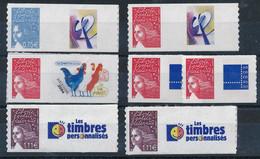 """EC-453 FRANCE: Lot Avec """" Personnalisées"""" Faciale De 8.00 Euros - Gepersonaliseerde Postzegels"""