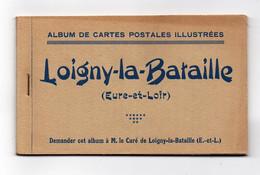 Loigny La Bataille Album De 12 Cartes Postales Illustrées Guerre De 1870 - Loigny