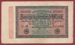Allemagne  20000  Mark 1923 Dans L 'état--- (281) - 20000 Mark