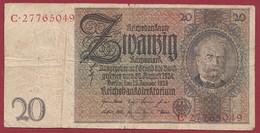 Allemagne  20  Reichsmark 1924 Dans L 'état--- (282) - 20 Mark