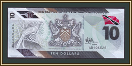 Trinidad & Tobago  10 Dollars 2020 (2021) P-62 UNC New! - Trinité & Tobago