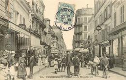 VINCENNES Rue De Montreuil - Vincennes