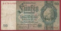 Allemagne  50 Reichsmark 1924 Dans L 'état--- (284) - 50 Mark