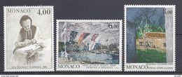 ⭐ Monaco - YT N° 1693 à 1695 - Neuf Sans Charnière - 1989 ⭐ - Neufs