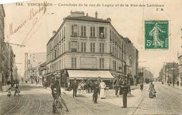 VINCENNES Carrefour De La Rue De Lagny Et De La Rue Des Laitières - Vincennes
