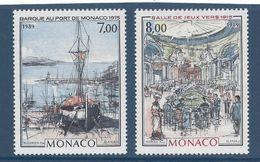 ⭐ Monaco - YT N° 1696 Et 1697 - Neuf Sans Charnière - 1989 ⭐ - Neufs