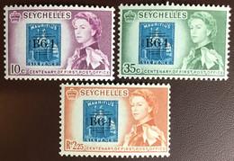 Seychelles 1961 Post Office Anniversary MNH - Seychelles (...-1976)