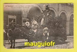 18 CHER / BOURGES / FÊTE DES MUSES  LE 12 JUILLET 1908 / CHAR DE LA BRASSERIE PIGNOUX / ANIMÉE - Bourges