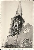 Bois-d'Haine - Manage - Travaux De Restaurations à La Tour De L'église Saint-Jean-Baptiste 2 Photos 9 X 6 Cm - Altri