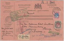 Niederlande - S'Gravenhage 1906 Paketkarte I.d. SCHWEIZ - Non Classificati