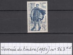 France Journée Du Timbre (1950) Y/T N° 863 Neuf ** - Nuovi