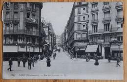 Paris - Montmartre - Rue Des Martyrs - Animée : Petite Animation - Commerces - (n°20841) - Distretto: 18