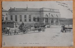 Paris - Gare De Sceaux - Animée : Petite Animation - Attelages De Chevaux - Dos Simple 1905 - (n°20844) - Sceaux