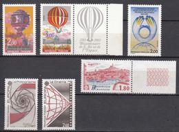 France (1983) Y/T Air Espace 2261/62 + Europa 2270/71 + Prop. Indust 2272 + Mardeille 2273 Neufs ** - Neufs
