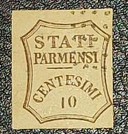 ANTICHI STATI - STATI PARMENSI 10 Cent. - Parma