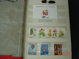 MONACO   PETIT ALBUM CONTENANT TIMBRES NEUFS LUXE DE MONACO      BELLE COTE - Collections (with Albums)