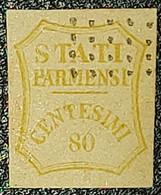 ANTICHI STATI - STATI PARMENSI 80 Cent. - Parma