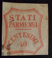 ANTICHI STATI - STATI PARMENSI 40 Cent. - Parma