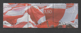 Croatia 2006, Used, Michel 767, 768, 769, Football Fans - Croatia