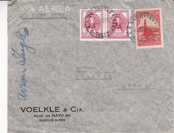 ARGENTINA CORREO AEREO. ENVELOPPE CIRCULEE PAR AVION ANNEE 1946, BUENOS AIRES A THALWIL, SUISSE.- LILHU - Poste Aérienne