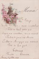 MENU    RENAIX  1 E JUILLET 1894   15 X 10 CM - Menus
