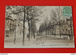 GENT - GAND  -  Boulevard De La Citadelle - Gent