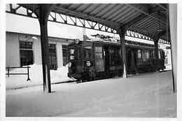 Photo Gare Et Train Martigny Châtelard - Railway