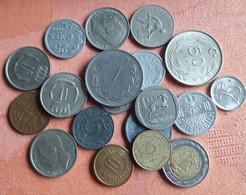 PARTIJ  18 Munten Verschillende Landen - Lots & Kiloware - Coins
