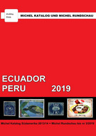 Catalogue De Timbres Poste Michel Ecuador Peru Stamps Catalog FREE PDF SHIPPING - Unclassified