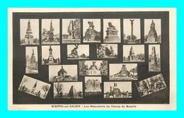 A943 / 531 67 - WOERTH Sur SAUER Monuments Du Champ De Bataille Multivues - Woerth