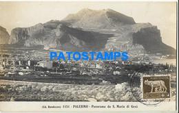 164561 ITALY PALERMO SICILIA VIEW PANORAMA OF S. MARIA DI GESU POSTAL POSTCARD - Unclassified