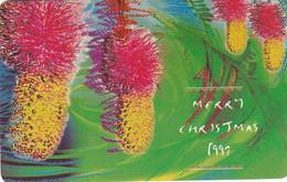 SOUTH AFRICA(chip) - Merry Christmas 1997, Kalahari Christmas Tree, MTN Telecard, Tirage 20000, Used - South Africa
