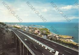 CARTOLINA  REGGIO CALABRIA,CALABRIA,AUTOSTRADA DELLA COSTA VIOLA,LUNGOMARE,ESTATE,VACANZA,VIAGGIATA 1967 - Reggio Calabria