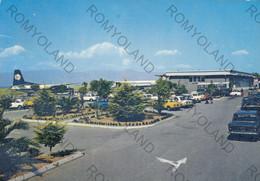 CARTOLINA  REGGIO CALABRIA,CALABRIA,AEROPORTO,BELLA ITALIA,STORIA,MEMORIA,LUNGOMARE,ESTATE,VACANZA,VIAGGIATA 1972 - Reggio Calabria